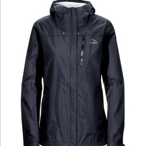 Black Women's Trail Model Rain Jacket